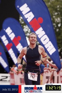 Nick McCarthy - Ironman UK 2012