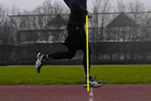 Proper Running Technique - Heel Strike Under Knee