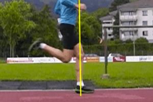 Proper Running Technique - Forefoot Strike Under Knee