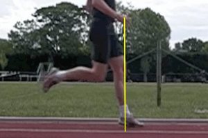 Proper Running Technique - Forefoot Over Stride