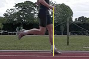 Proper Running Technique - Forefoot Over Stride