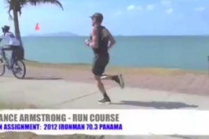 Lance Armstrong Running Technique Analysis