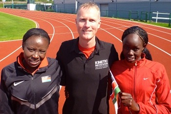 With The Kenyans