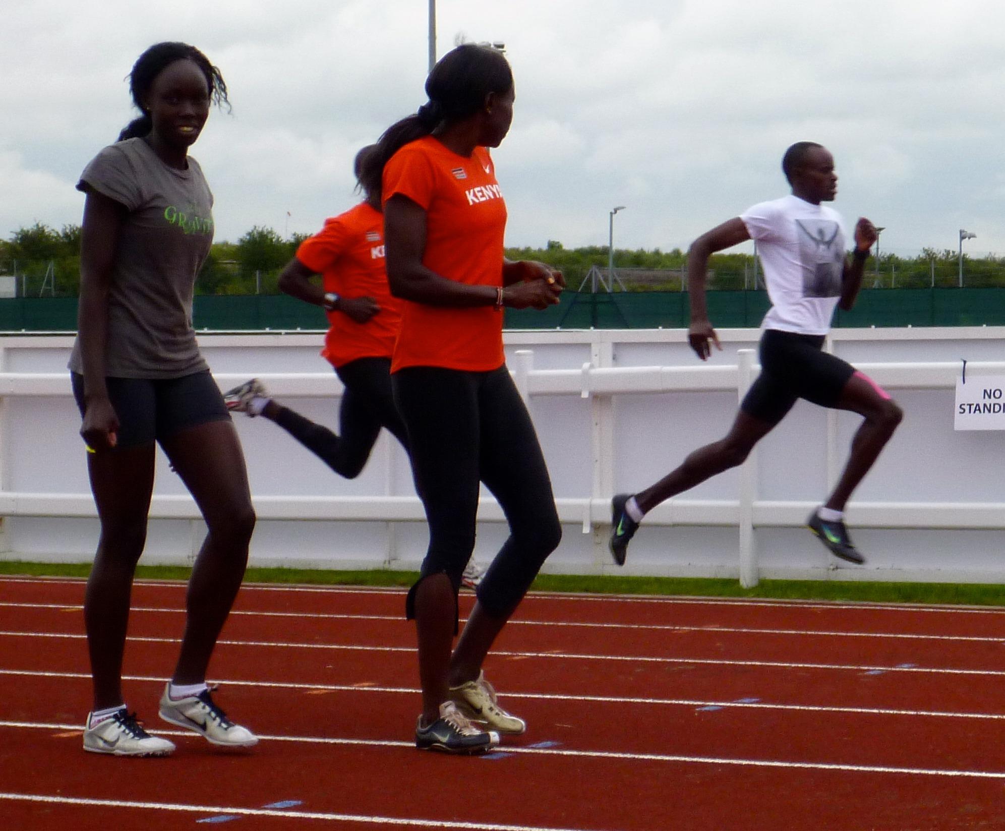 Kenyan Camp Pre Olympics 2012
