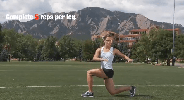 3D Lunge Warm-Up for Running | Run Coaching, Ironman and Triathlon Specialists - Kinetic Revolution