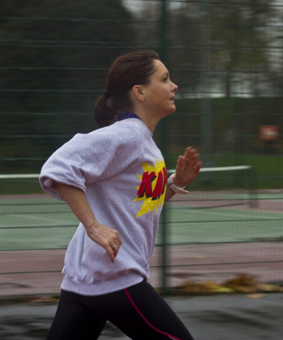 How to Hold Your Arms While Running