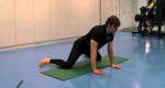 Frog Stretch for Tight Adductors