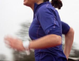 running asymmetries