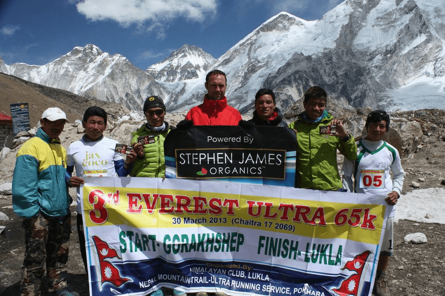 Everest Ultra Marathon Team Photo