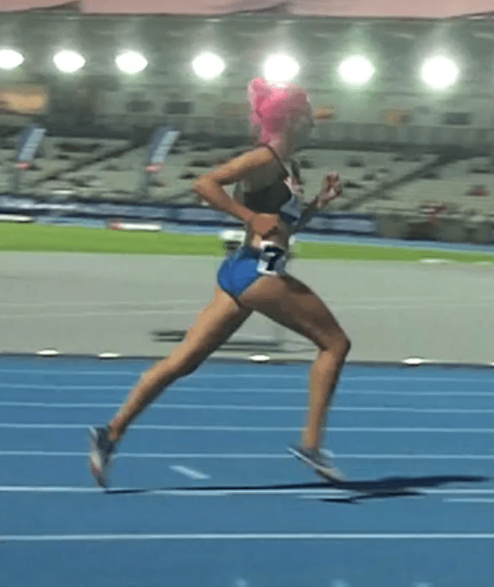 Running Technique Observations: Olympian Victoria Mitchell