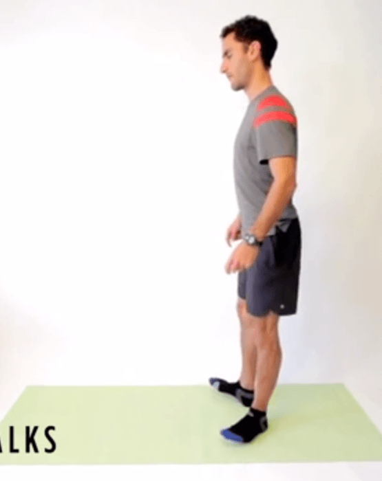 Shin Strengthening 'Heel Walk' Drill for Runners