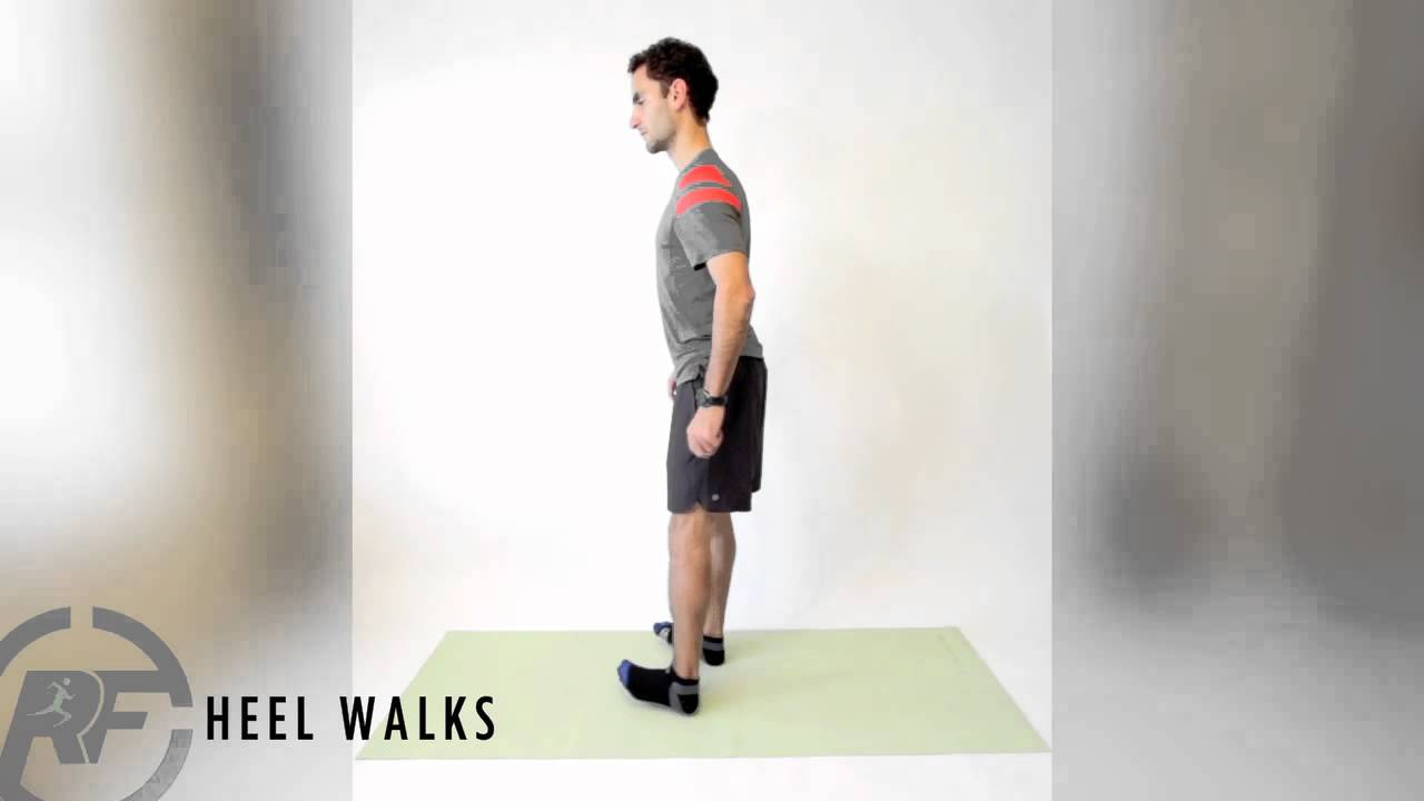 Shin Strengthening 'Heel Walk' Drill for Runners | Run Coaching, Ironman and Triathlon Specialists - Kinetic Revolution