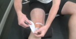 Runner's Knee Taping Technique