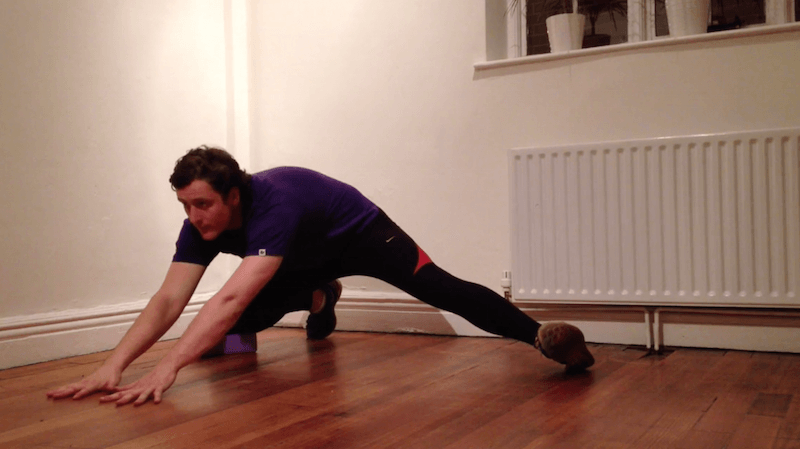 Adductor (Groin) Stretch for Runners & Triathletes | Kinetic Revolution