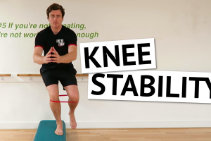 knee stability exercise