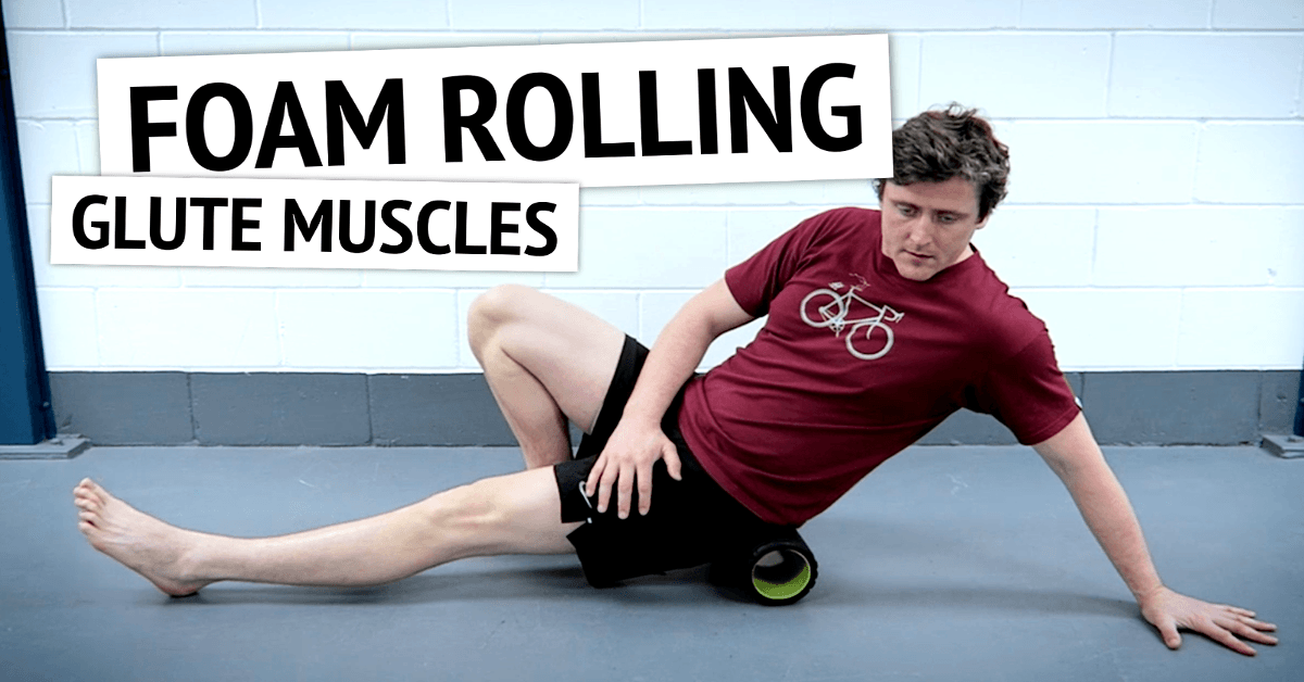 Foam Rolling the Glute Muscles | Run Coaching, Ironman and Triathlon Specialists - Kinetic Revolution