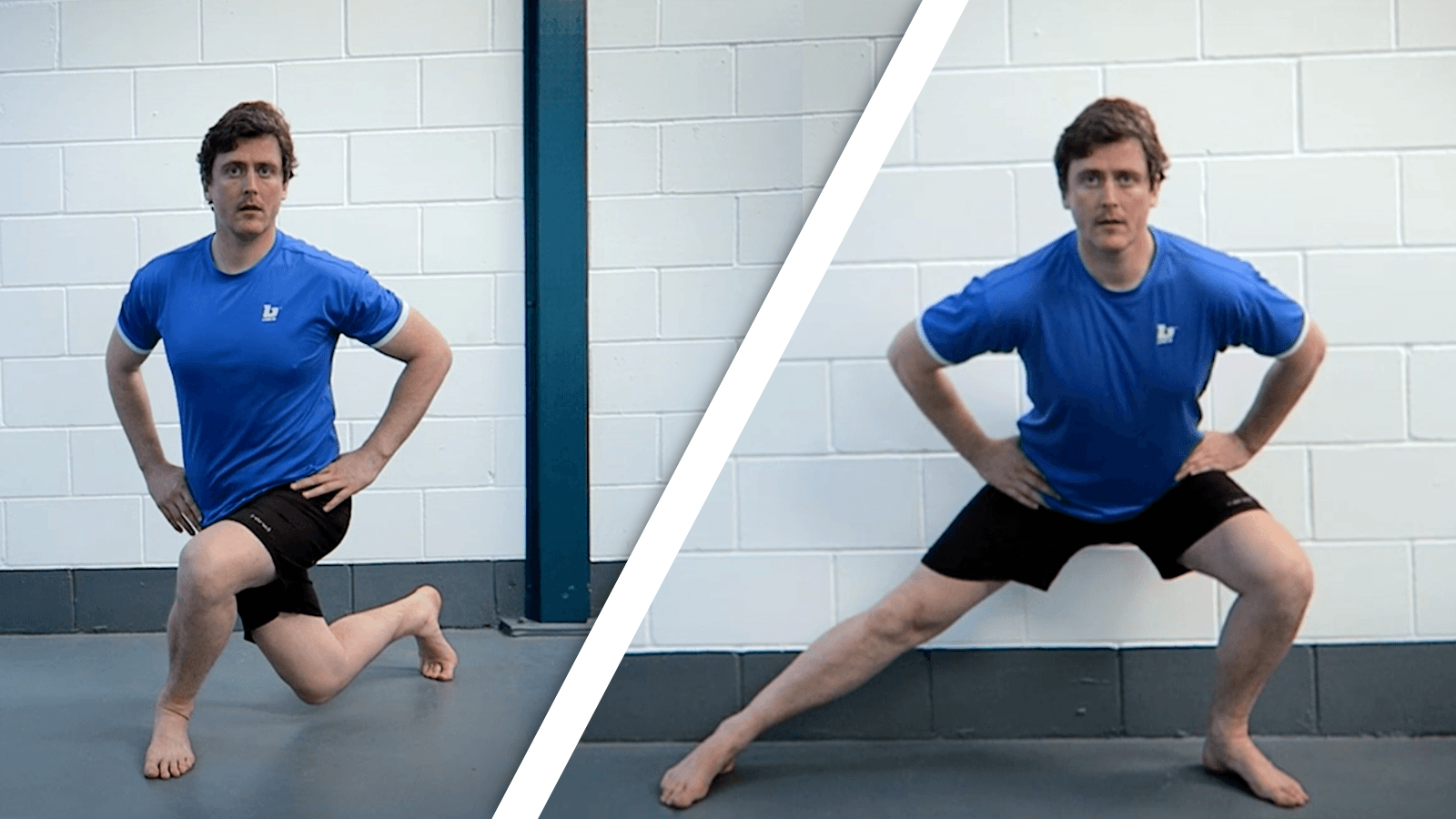 Lateral & Cross-Over Lunges for Stronger Glutes