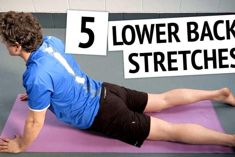 lower back stretches to relieve back pain