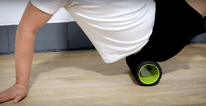 IT Band Foam Roller Exercises - Video Tutorial - IT Band Stretches