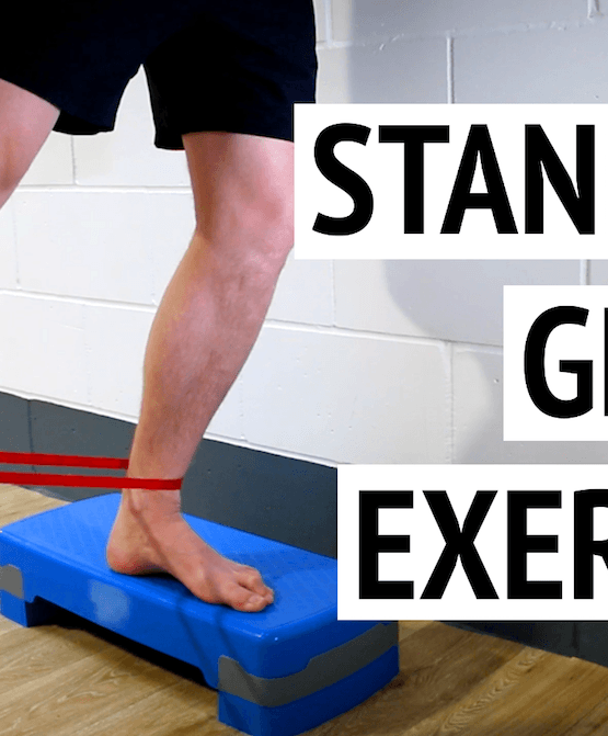 Standing Glutes Exercise: Clock-Face Drill