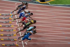 Usain Bolt 100m Start !AAF London