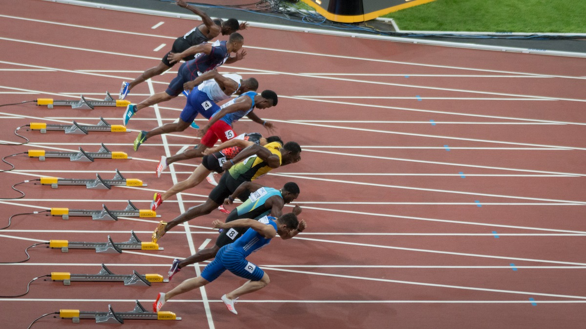 Usain Bolt 100m Start !AAF London