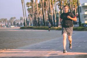 Training for a marathon in 5 weeks