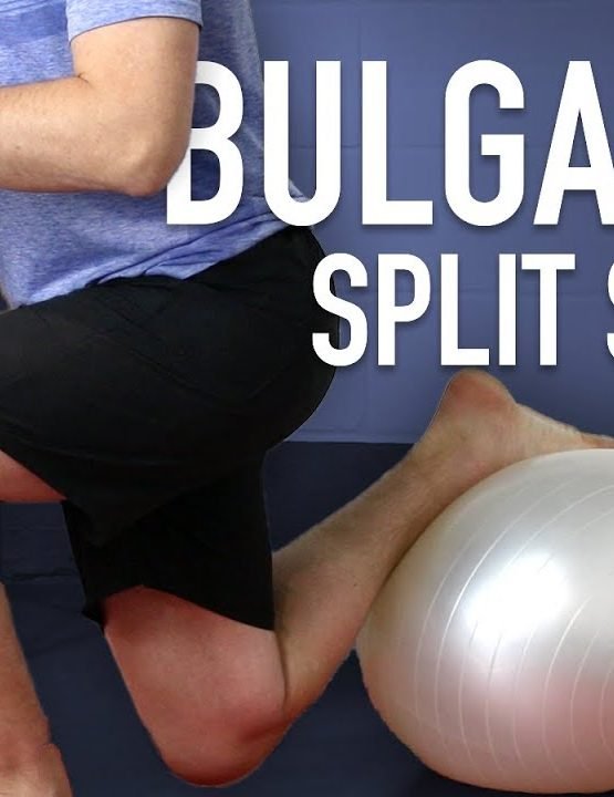 Bulgarian Split Squat – Gym Ball Variation