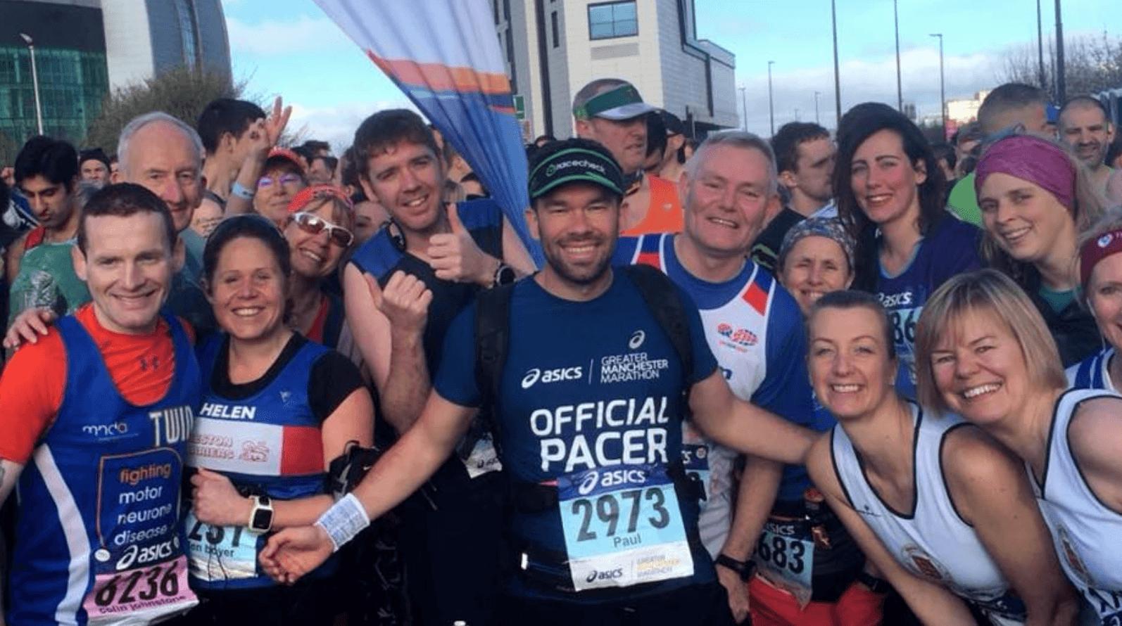 Paul Addicott Running Pacer