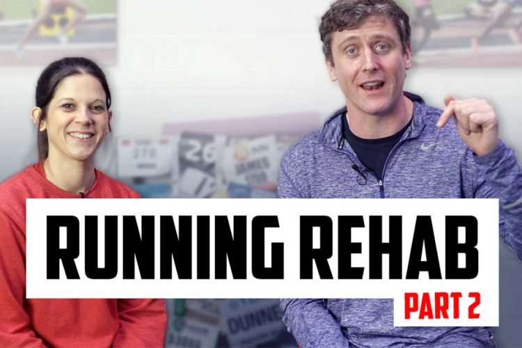 running rehab with James Dunne