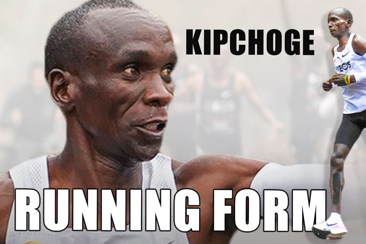 Eliud Kipchoge Running Technique