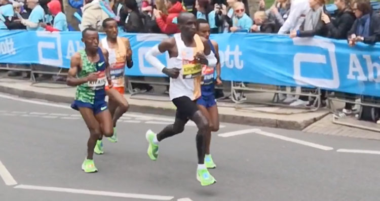 Run Like Eliud Kipchoge