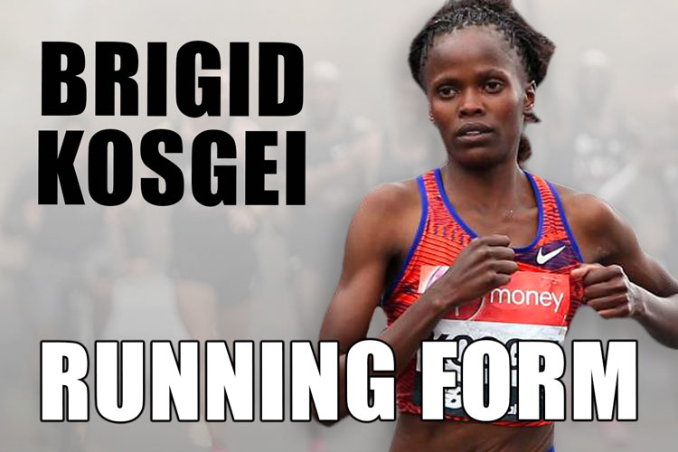 Brigid Kosgei Running Technique