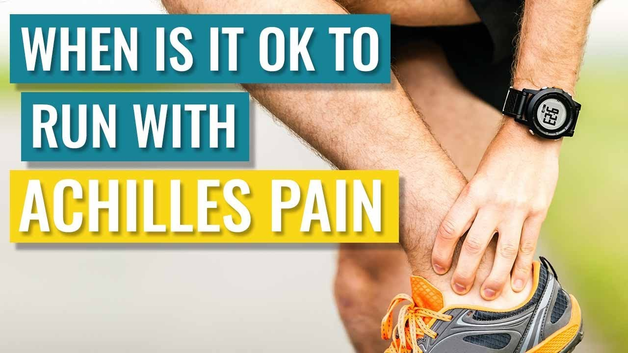 Can You Run With Achilles Tendonitis Is It Ok To Run Answered